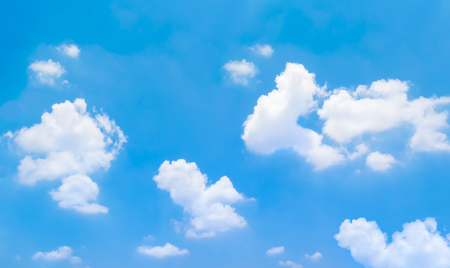 Sky and clouds, soft  blur for background Banco de Imagens