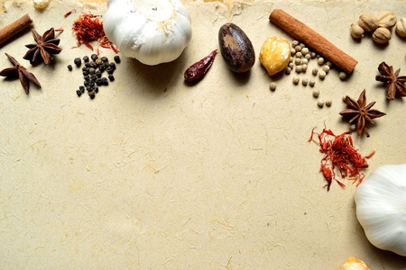 garlic and spices Stock Photo - 10081123