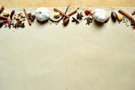 garlic and spices Stock Photo - 10081367