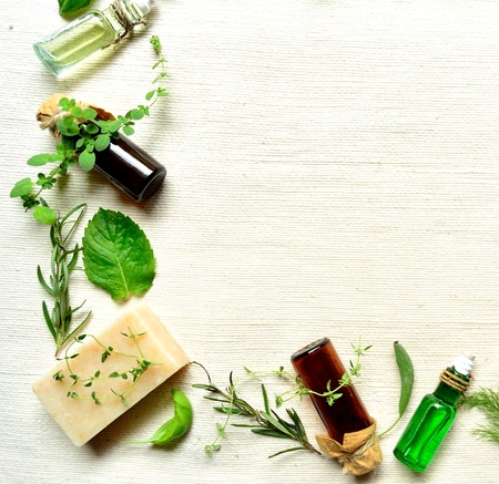 aromatherapy and herbal products