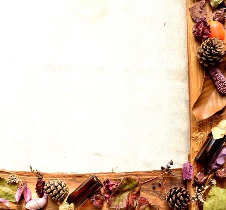 potpourri: potpourri and aromatherapy supplies. violet  Stock Photo