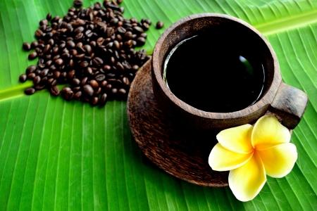 Coffee with Plumeria