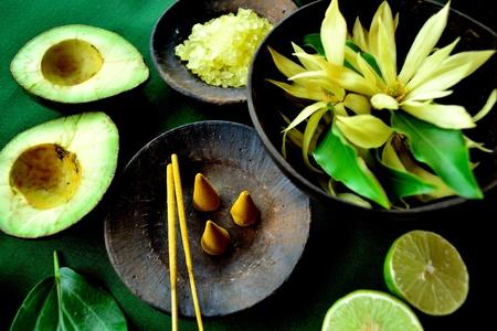 Champaka and incense
