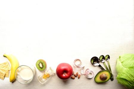 野菜、果物とメジャー