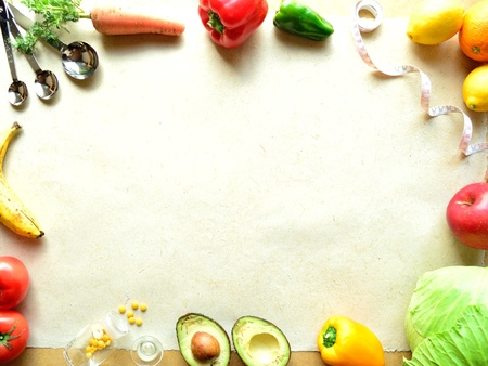 vegetable and fruit for diet photo