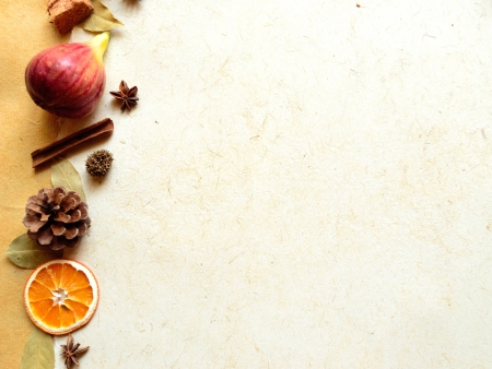 Figs,spice and potpourri Autumn image