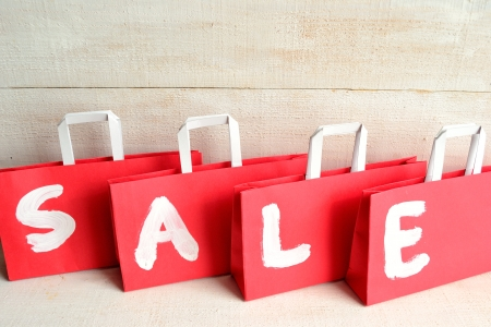 Red bargain sale bags