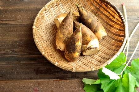 butterbur: Bamboo shoots with butterbur