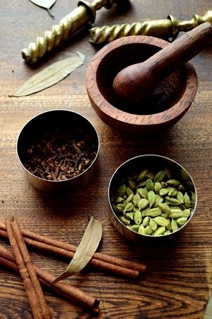Spices with mortal Reklamní fotografie - 108036104