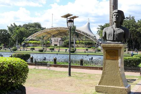 OCT 29, 2016 Rizal Park open air auditorium in Roxas Boulevard, Manila, Philippines - Landmark