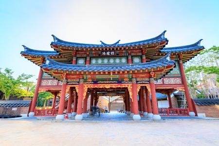 cronologia: Jun 21, 2017 Parque temático Gaya en Gimhae, Gyeongsangnam-do, Corea del Sur