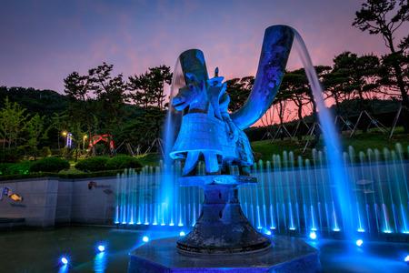 oriented: Jun 21, 2017 Gaya theme park in Gimhae, Gyeongsangnam-do, South Korea Editorial