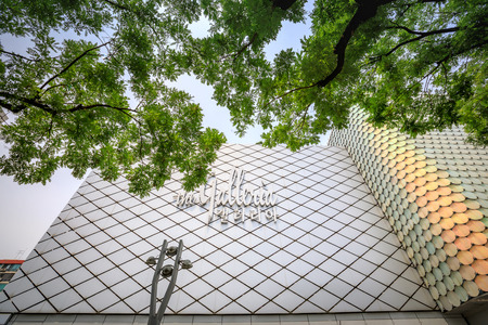 thoroughfare: Jun 19, 2017 Galleria Department Store known as the most popular luxury-brand fashion mall in Seoul, Korea - Famous landmark
