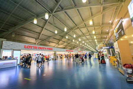 Gimhae International Airport on Jun 24, 2017 in Busan, South Korea