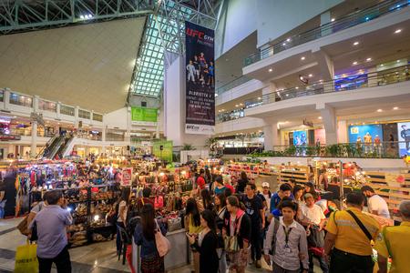 Makati Glorietta shopping mall on Sep 4, 2017 in Metro Manila, Philippines- Cityscape