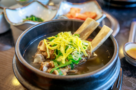 galbitang, beef, meat, bone, Short Rib Soup