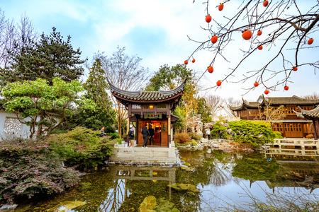 portland oregon united states dec 19 2017 the landmark lan su - Lan Su Chinese Garden