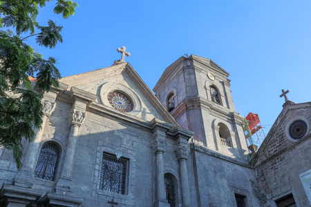 San Agustin Church, a Roman Catholic church under the auspices of The Order of St. Augustine in Intramuros, Manila