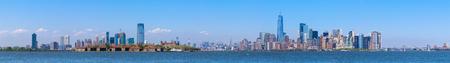 Lower Manhattan skyscrapers and One World Trade Center, New York City