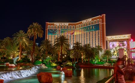 Las Vegas, Nevada - May 27, 2018 : Treasure Island hotel and casino, Las Vegas Blvd Editorial