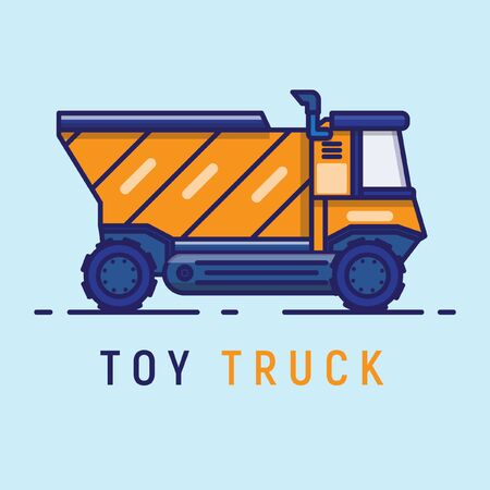 Toy trucks for toddlers and older children