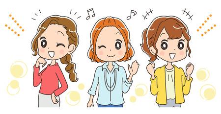 Working women group is happy