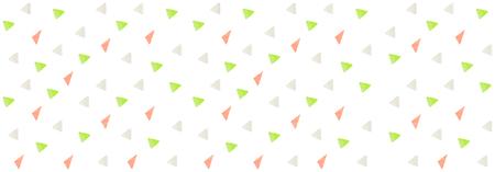 Colorful Triangular shape pattern design