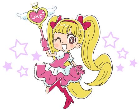 Japanese style anime girl