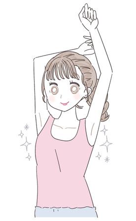 A beautiful armpit woman