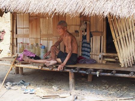 thai ethnicity: Thai ethnicity man at home Editorial