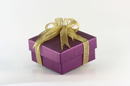 ribbin: gift isolated on a white background Stock Photo