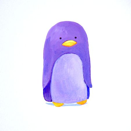 abstract baby penguin  Stock Photo - 4815531