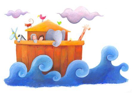 ark: Noah and flood