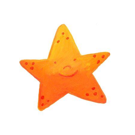 orange starfish  Stock Photo - 4815524