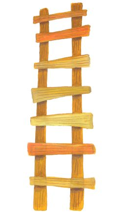 drabiny: drabiny drewniane