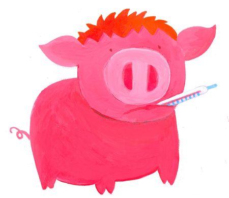 Swine flu  Stock Photo - 4815554