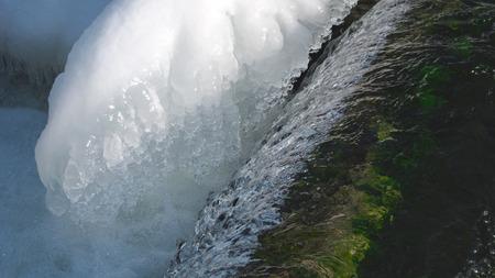 つららと川