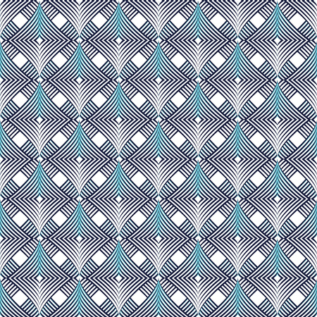 paper kites: Geometric seamless vector pattern.