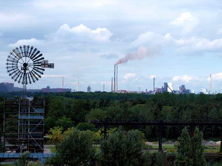 paesaggio industriale: ammissione di un paesaggio industria in Germania