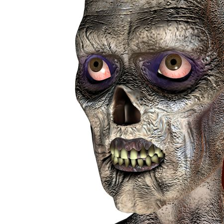 3d rendering a Zombies as illustration Stock Illustration - 7930896