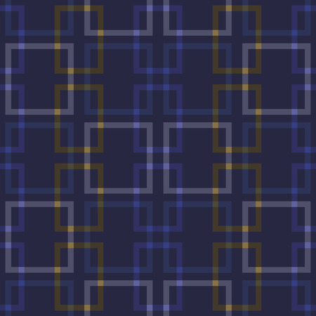 intersecting: intersecting squares pattern Illustration