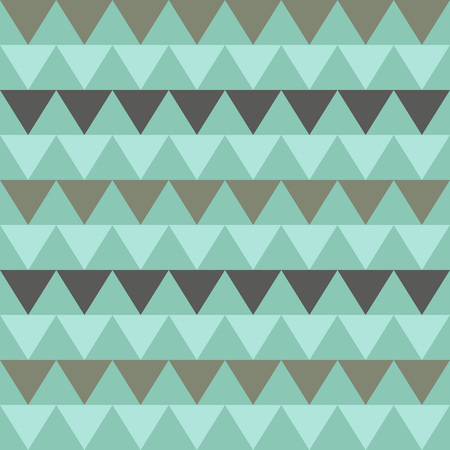 zag: Tribal triangles seamless pattern. Bend zig zag