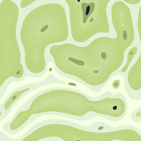 Biological seamless pattern. Abstract background. Illustration