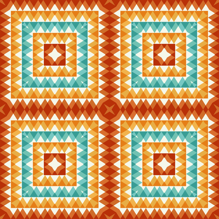 Abstract seamless pattern. Tiledesign with triangles elements Иллюстрация