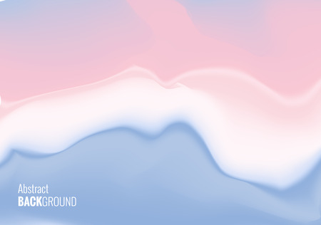 Abstract liquid coast background. Romantic cover template