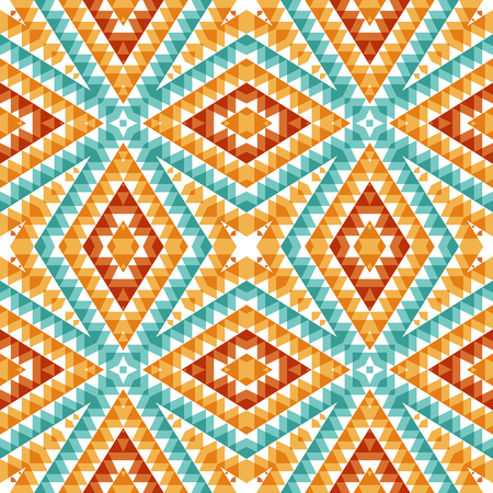 Abstract seamless pattern. design with triangles and rhombus  elements