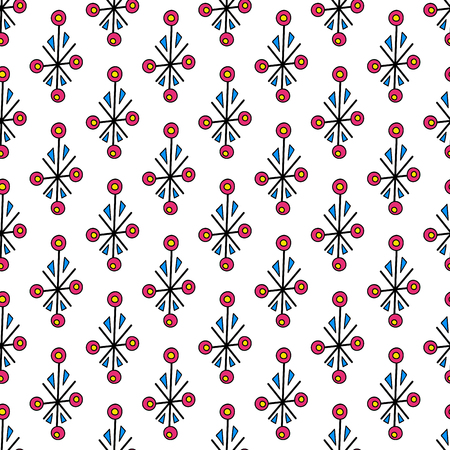 Abstract geometric element. Simple seamless pattern design