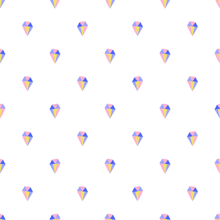 Simple diamond seamless pattern for print and fabric