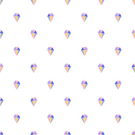 Simple diamond seamless pattern for print and fabric Фото со стока - 127395635