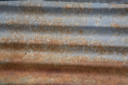 rust: rust in galvanized iron